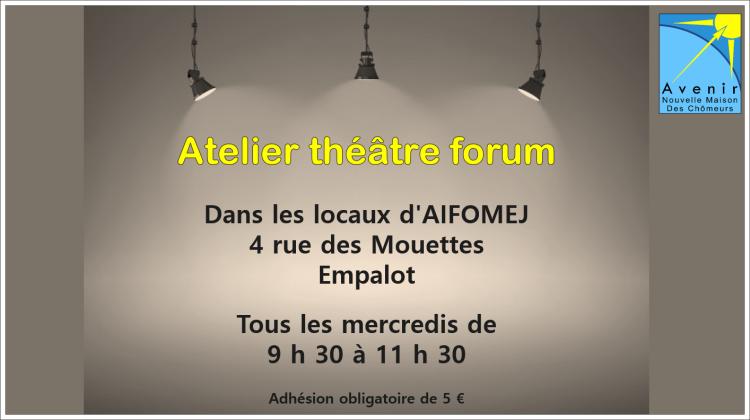 2019 - Atelier théatre forum