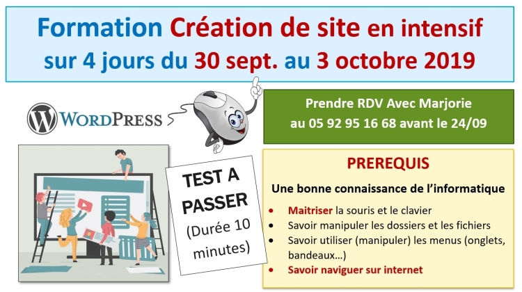 2019-09-30 - Création de site - version PowerPoint