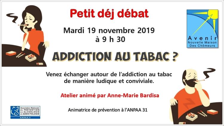 2019-11-19 - Addiction au tabac